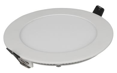 """LED-Panel McShine """"LP-914RW"""", 9W, 150mm-Ø, 530 lm, 3000K, warmweiß"""