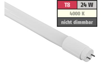 LED-Röhre Premium, T8, 24W, 3360 lm, 270°, 150cm, neutralweiß