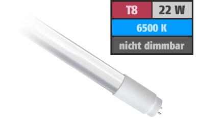 LED-Röhre, T8, 22W, 2.100 lm, 150°, 150cm, tageslichtweiß