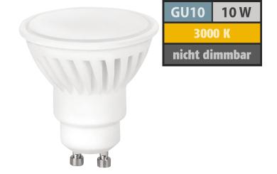 LED-Strahler GU10, 10W, 910 lm, warmweiß, Keramik
