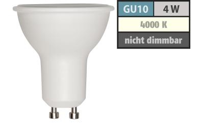 LED-Strahler GU10, 4W, 310 lm, neutralweiß