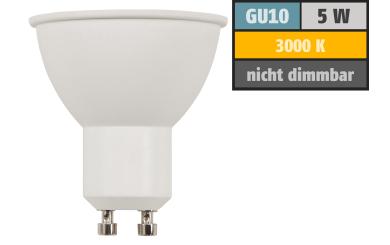 "LED-Strahler McShine ""COB"" GU10, 5W, 350lm, warmweiß, 10° Spot"