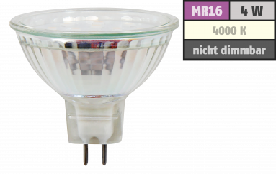 "LED-Strahler McShine ""ET40"", MR16, 4W, 320lm, neutralweiß"