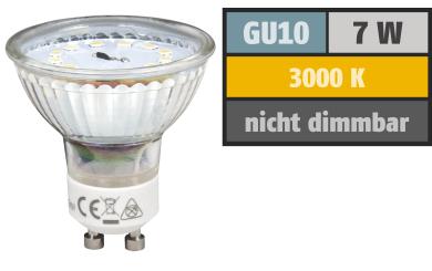 """LED-Strahler McShine """"ET70"""", GU10, 7W, 470 lm, warmweiß"""