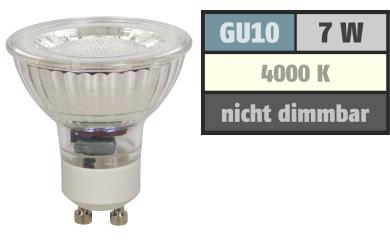 """LED-Strahler McShine """"MCOB"""" GU10, 7W, 550 lm, neutralweiß"""
