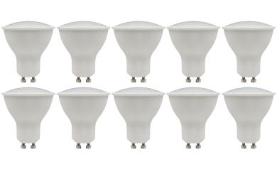 """LED-Strahler McShine """"PV-90"""" GU10, 9W, 900lm, 120°, 3000K, warmweiß"""
