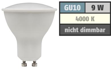 "LED-Strahler McShine ""PV-90"" GU10, 9W, 900lm, 120°, 4000K, neutralweiß"