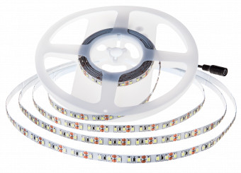 LED-Stripe 168LED/m, 1650lm/m, 11W/m, warmweiß 3000k, 5m Rolle, IP20, 150lm/W