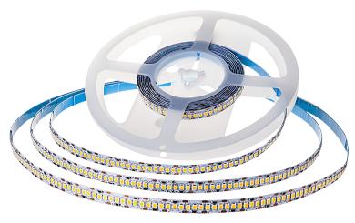 LED-Stripe 240LED/m, 3000lm/m, 18W/m, warmweiß 3000k, 5m , IP20, 15lm/W