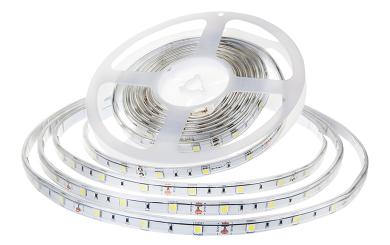 LED-Stripe 30LED/m, 420lm/m, 4,8W/m, 12V, tageslichtweiß 6000k, 5m, IP65