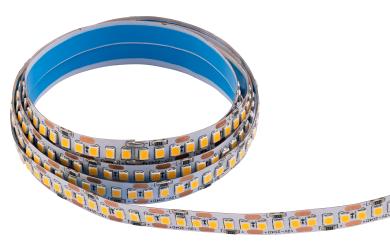 LED-Stripe McShine, 1700lm/m, 204LEDs/m, 16W/m, 3000K, IP20, 5m Rolle