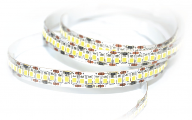 LED-Stripe 204LED/m, 1700lm/m, 18W/m, tageslichtweiß 6000k, 5m Rolle, IP20