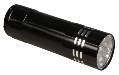 LED-Taschenlampe McShine mit 9 LEDs