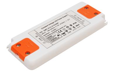 """LED-Trafo McShine """"Slim"""" elektronisch, 1-20W, 230V auf 12V, 128x50x12mm"""