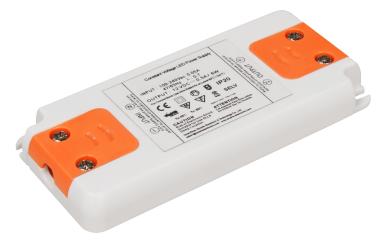 """LED-Trafo McShine """"Slim"""" elektronisch, 1-6W, 230V auf 12V, 99x46x12mm"""