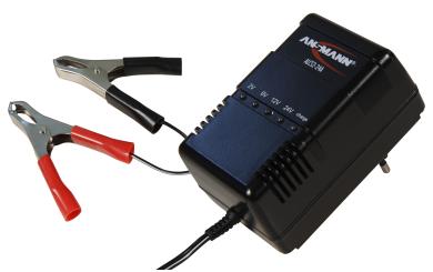 Ladegerät ANSMANN für Bleiakkus von 2-24 V, 2,4-24 Ah