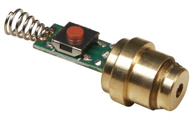 Laser Modul 4mW Rot