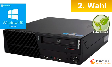 Lenovo ThinkCentre M81 SFF, G620 G2x2,6 GHz, 4096MB, 320GB HDD, W10H