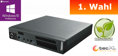 Lenovo ThinkCentre M92p Tiny MP,Intel 3470T Core i5, 8192 MB, 125GB SSD, W10PRO