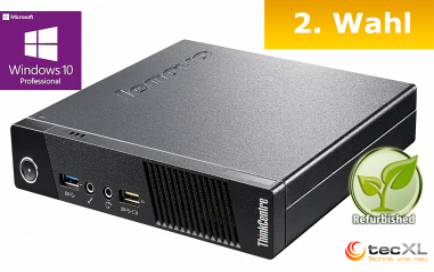 Lenovo Thinkcentre M73, Intel Pentium G 2x2.60GHz, 8GB DDR3, 128GB SSD, 2.Wahl