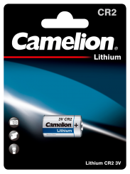 Lithium-Photobatterie CAMELION, CR2, 3 V, 1er-Blister
