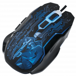 Maus, Gaming Mouse, USB 6-Button, 2400dpi