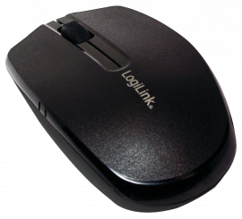 Maus, Wireless 2,4G Mouse, Optisch, schwarz