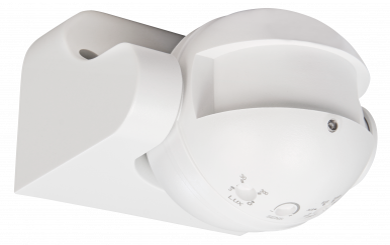 "HF / Mikrowellen-Bewegungsmelder McShine ""LX-752"", 180°, 230V / 1.200W, weiß, LED geeignet"