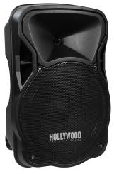 "Mobile Beschallungsanlage HOLLYWOOD ""MB-12"" 500W, SD/USB, Bluetooth, Funkmikro"