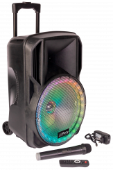 """Mobile Beschallungsanlage PARTY """"PARTY-12RGB"""" 700W, Bluetooth, LED-Beleuchtung"""