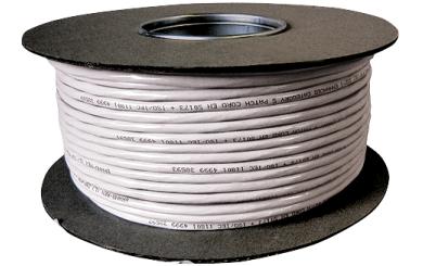 Netzwerk-Kabel CAT-6 Verlegekabel 100m-Rolle, für 1 GBit Netzwerke