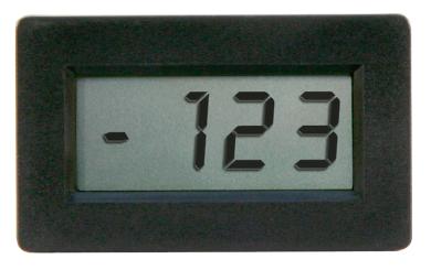 """Panel-Meter """"PM 438"""", digital, mit 3,5-stellige LC-Anzeige"""