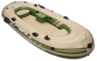 Schlauchboot Voyager, 348x141x48cm, Alu-Paddel, Aufbewahrungsbox