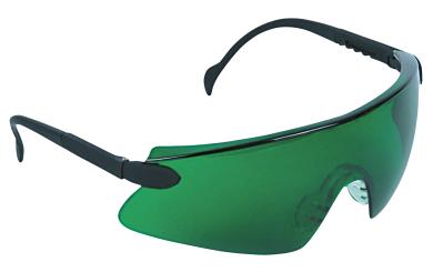 Schutzbrille, grün