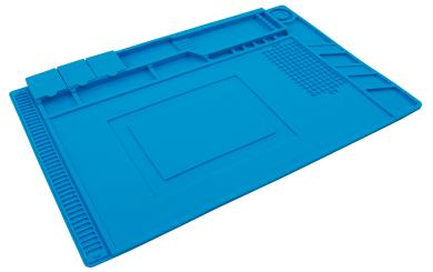 """Silikon-Lötmatte McPower """"LM-16"""" 45x30cm, Hitzebeständig, Antistatisch"""
