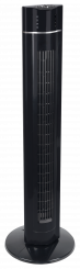 "Standventilator ""Tower Fan"", 60W, 107cm, 3 Stufen, Oszillation, schwarz"