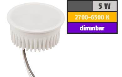 Wifi Smart LED-Modul itius, 5W, CCT 2700-6500K, Alexa, Google Assistant, App