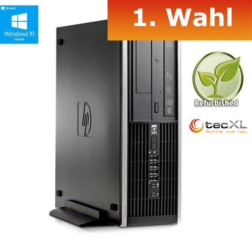 111100642 Hewlett Packard Elite 8000 SFF, Intel Core2Duo 2x3,16GHz, 4GB, 250GB,