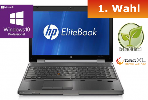 111101738 Hewlett Packard EliteBook 8570w, Intel Corei7 4x2.60GHz, 16GB DDR3, 24