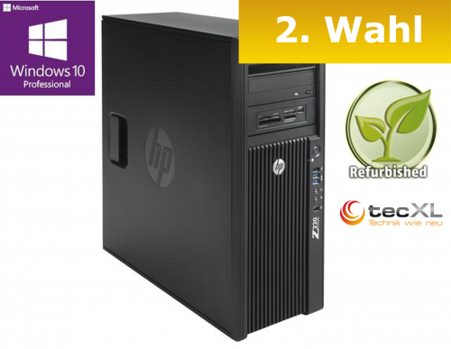 111101732 Hewlett Packard Z220 T, Intel V2 Xeon E3 4x3.50GHz, 16GB DDR3, 1.0 TB,