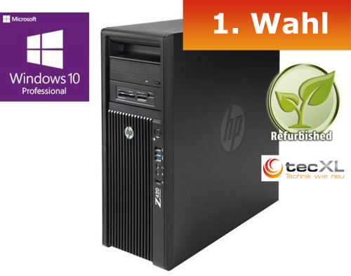 111101730 Hewlett Packard Z420 T, Intel V2 Xeon E5 4x3.70GHz, 32GB DDR3 ECC, 250