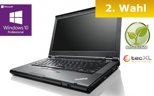 111101734 Lenovo ThinkPad T430, Intel Core i5 2x2,60GHz, 8GB DDR3, 320GB, 2.Wahl