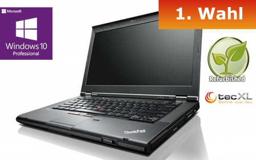 111101735 Lenovo ThinkPad T430, Intel Core i5 2x2,60GHz, 8GB DDR3, 320GB, 1.Wahl