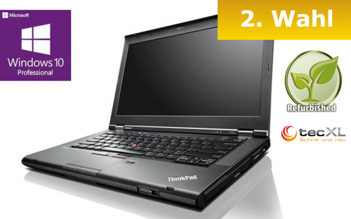 111101743 Lenovo ThinkPad T430, Intel Core i5 2x2,60GHz, 8GB DDR3, 320GB, 2.Wahl