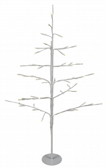 LED-Christbaum, 51 LEDs, warmweiß