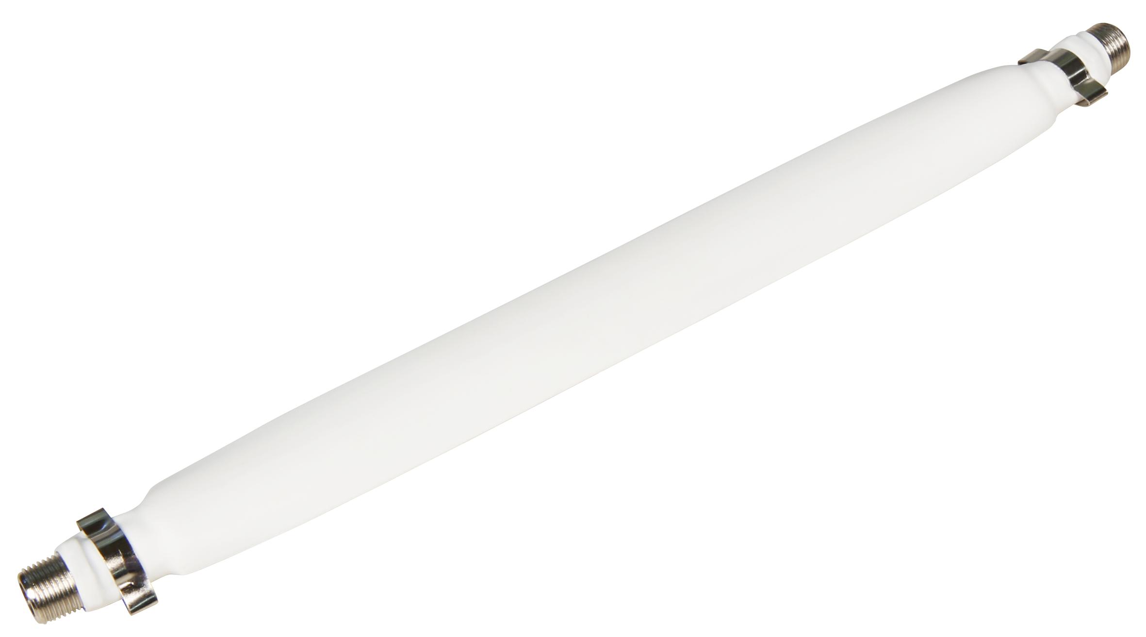 fensterdurchf hrung f r sat kabel mit 2 f anschl ssen flexibel 20cm wei ett der. Black Bedroom Furniture Sets. Home Design Ideas