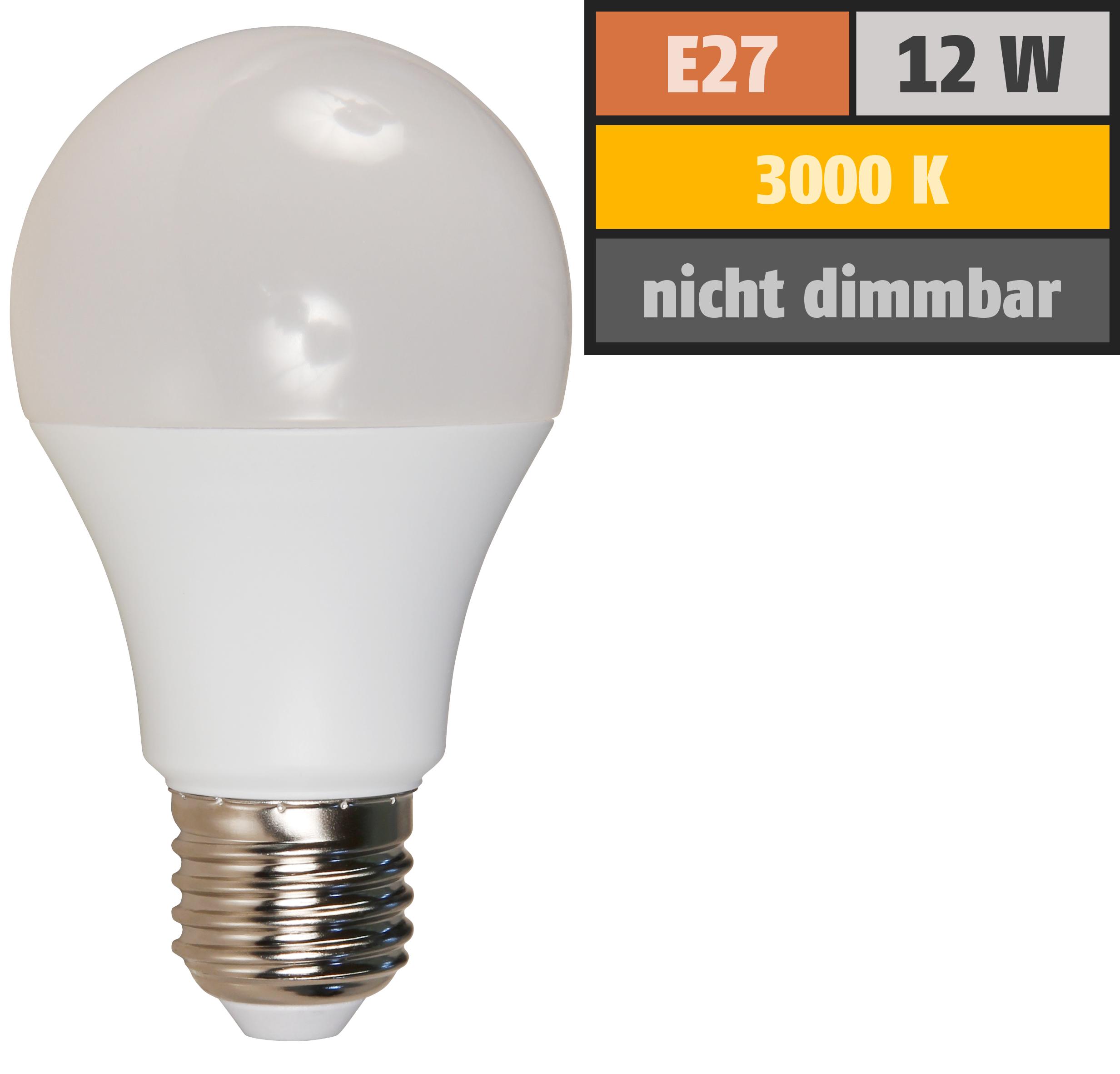 Led Glühlampe Mcshine E27 12w 1050lm 240 3000k Warmweiß