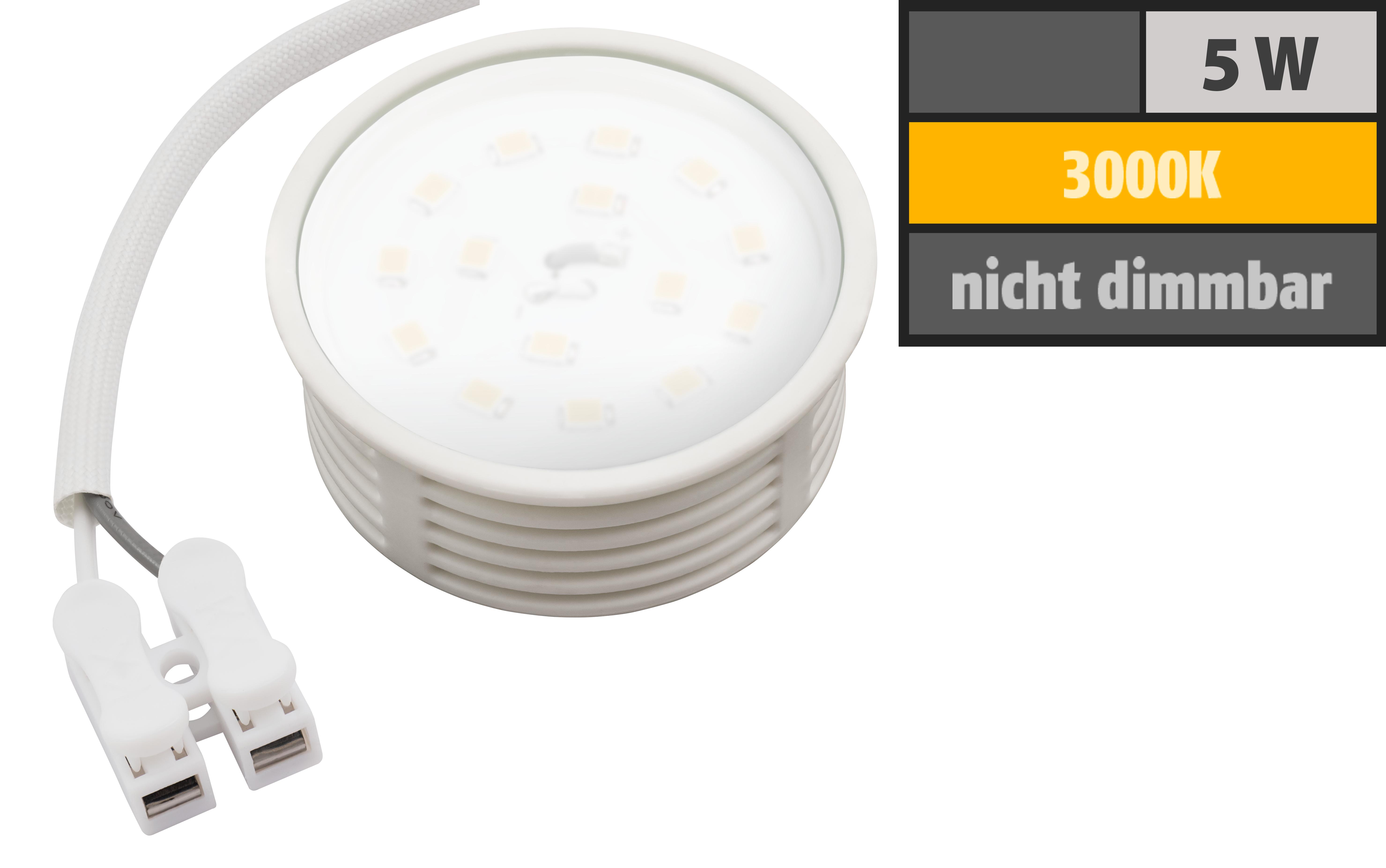 led modul mcshine 5w 400 lumen 230v 50x23mm warmwei 3000k ett der elektronik und. Black Bedroom Furniture Sets. Home Design Ideas