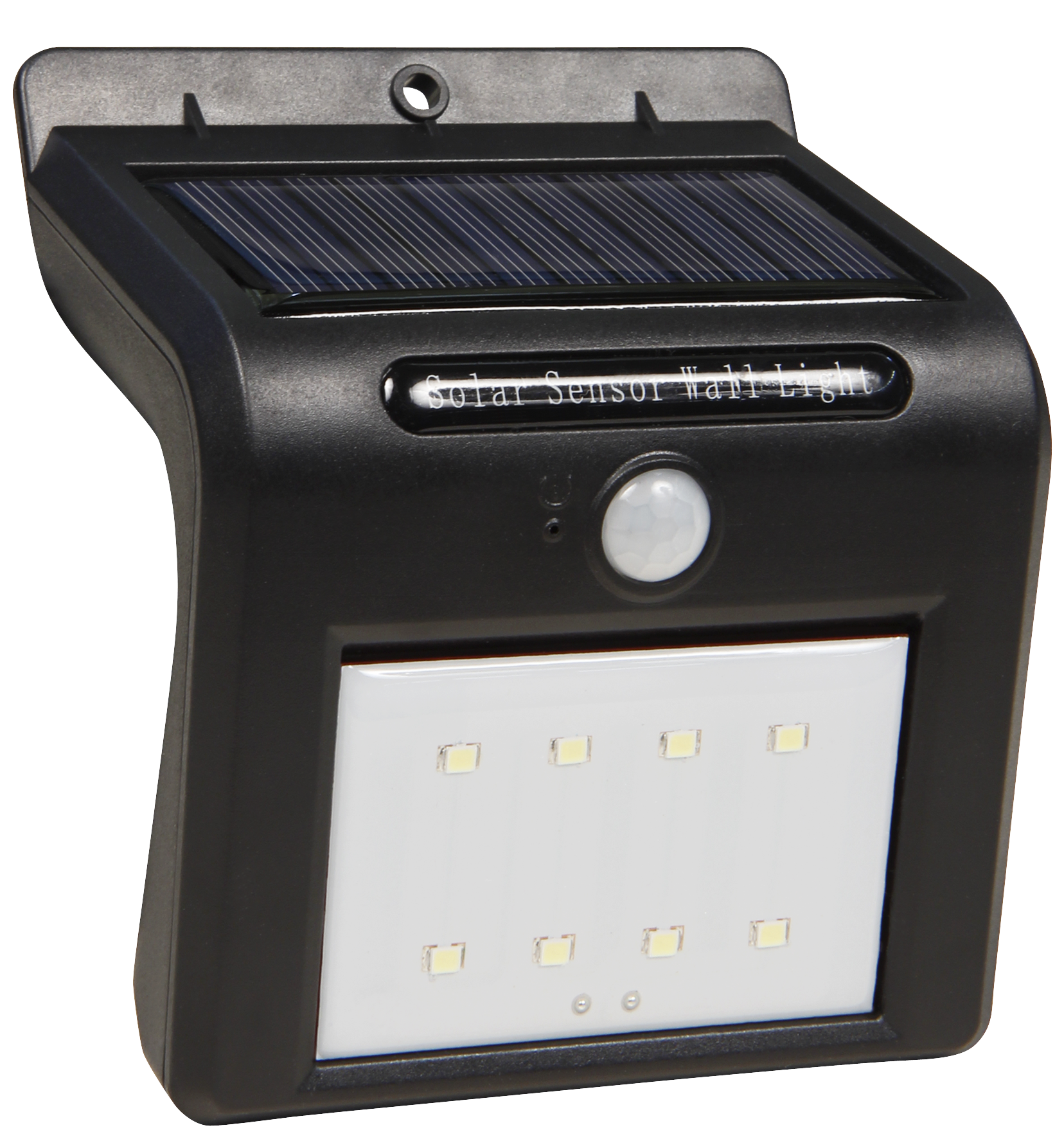 led solar wandleuchte mcshine bewegungsmelder 8leds 250lm ip65 1200ma akku ett der. Black Bedroom Furniture Sets. Home Design Ideas