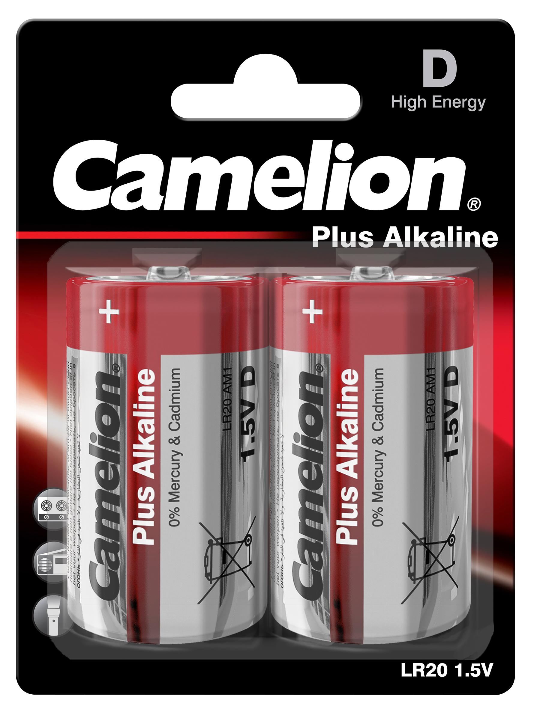 mono batterie camelion plus alkaline 1 5 v typ d lr20. Black Bedroom Furniture Sets. Home Design Ideas